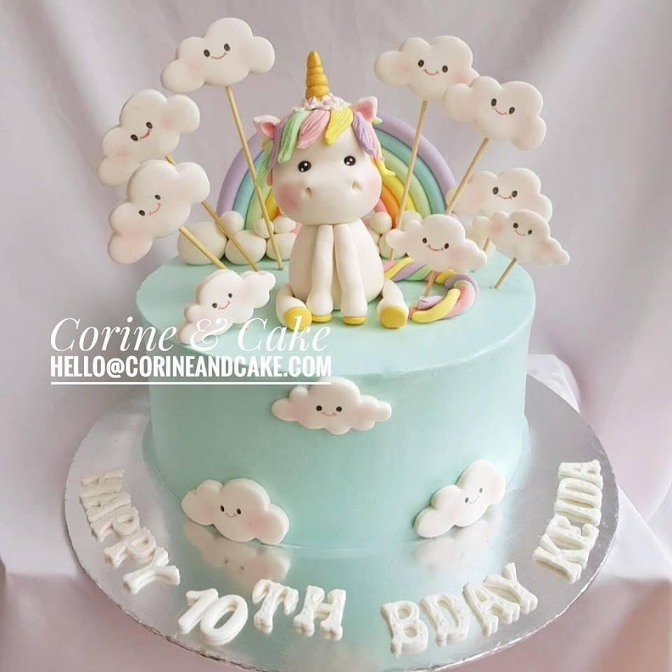 Baby Unicorn Cake Corine And Cake