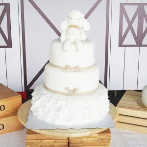 White Sheep cake