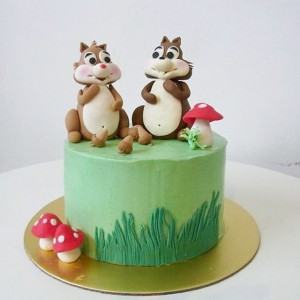 2 Squirrel cake
